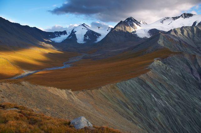 Золотые горы Алтая фото