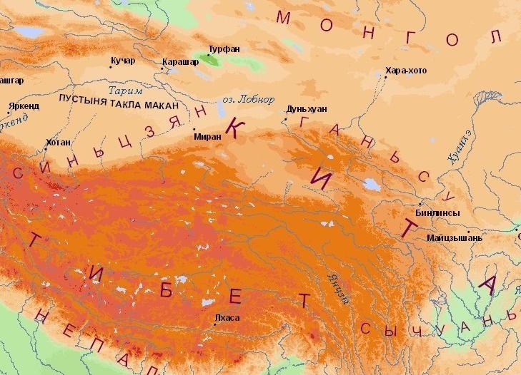 Тибетское нагорье фото