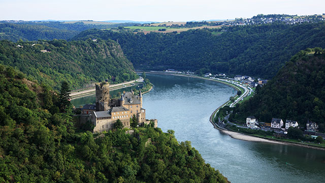 Река Рейн фото