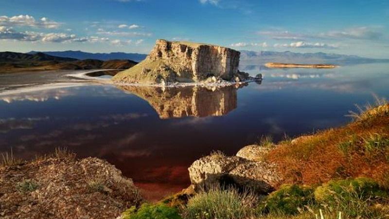 Озеро Урмия фото