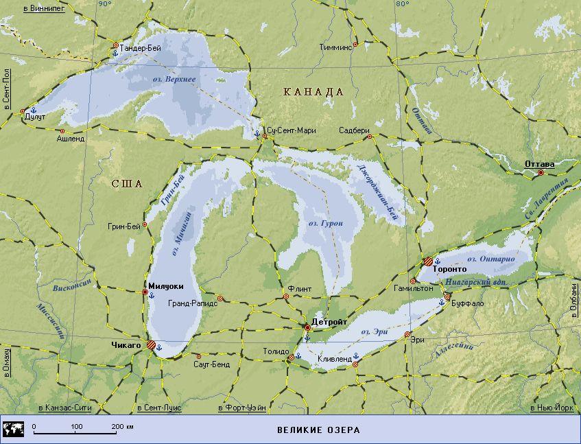 Верхнее озеро на карте фото